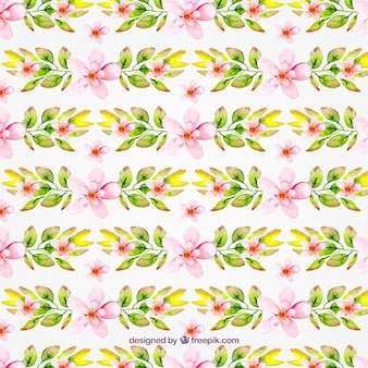 Lovely spring flowers pattern