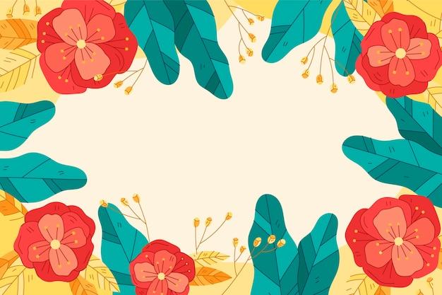 Прекрасные весенние обои с цветами