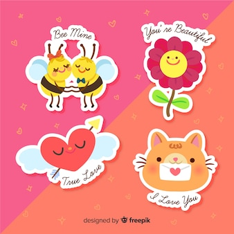 Lovely sticker collection