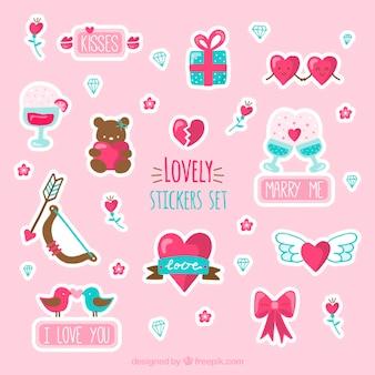 Lovely stikers set