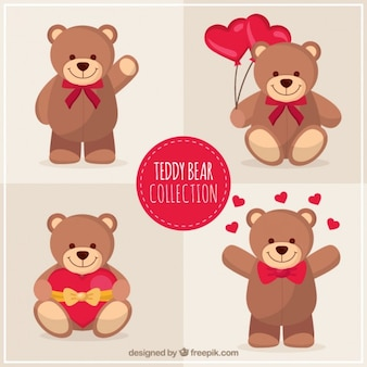 Lovely teddy bear pack