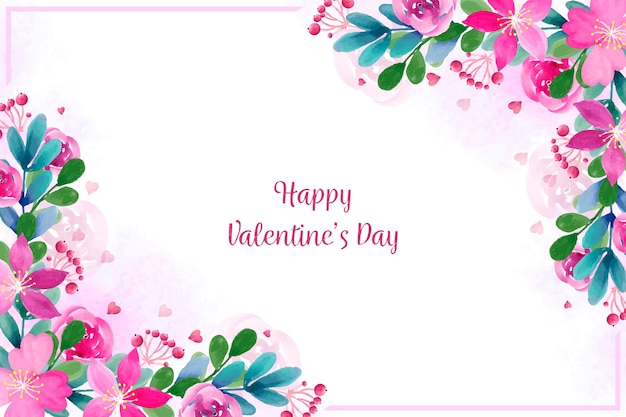 Lovely valentine's day background