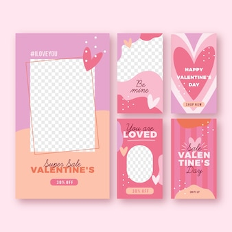Lovely valentine's day sale stories collection