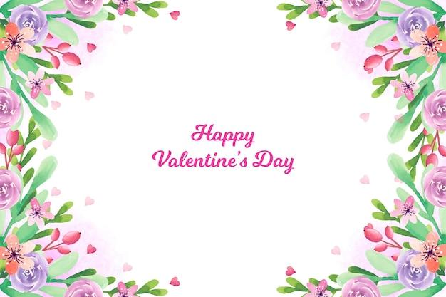 Lovely valentine's day wallpaper
