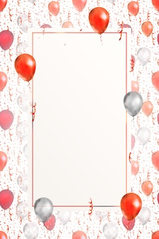 Lovely vertical background with bright red serpentine