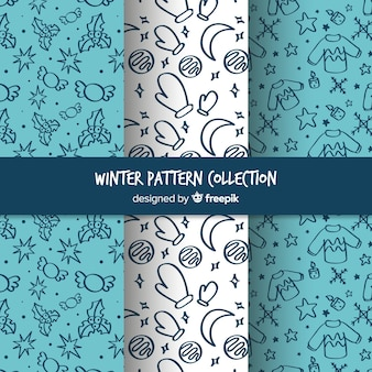 Lovely winter pattern collectio