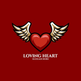 Loving heart valentine passion