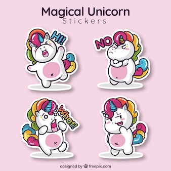 Lovley unicorn sticker collection