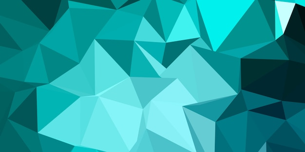 Low poly abstract background design