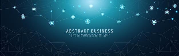 Низкополигональная связь людей в концепции коммуникации с бизнес-функциональностью. социальные сети векторные иллюстрации