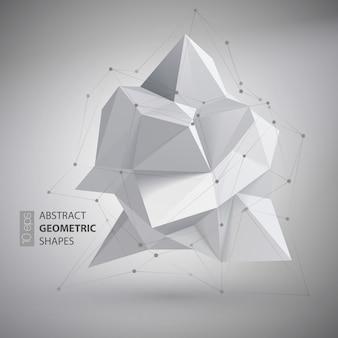 Low polygon geometry shape