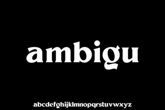 소문자 serif 글꼴 표시 서체