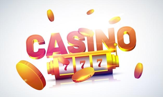 Lucky 777 игровой автомат с золотыми монетами и текстом casino.