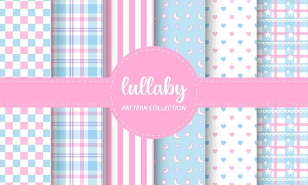 Lullaby seamless pattern