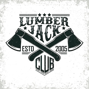 Логотип lumber jack