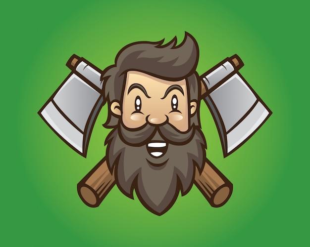 Lumber jack mascot
