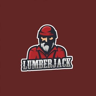 Lumberjack guy wood timber forest