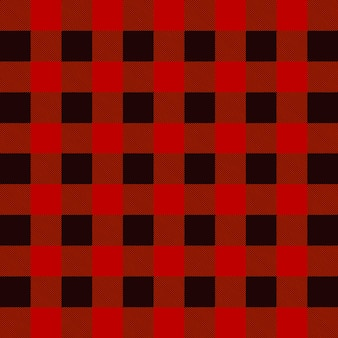 Lumberjack plaid vector pattern
