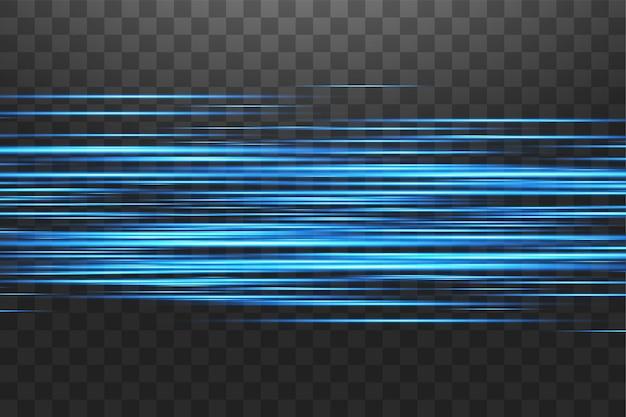 Светящийся синий абстрактный сверкающий фон выложен. премиум.