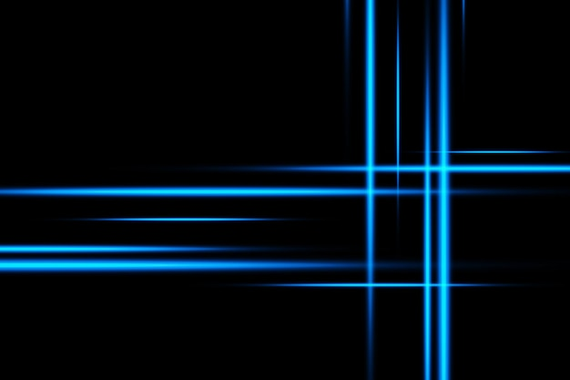 Luminous blue abstract sparkling lined background. premium.