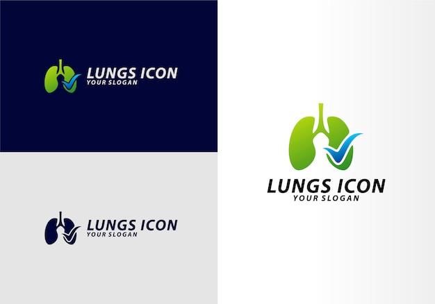 Lungs check logo
