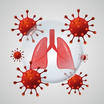 Lungs safe of coronavirus