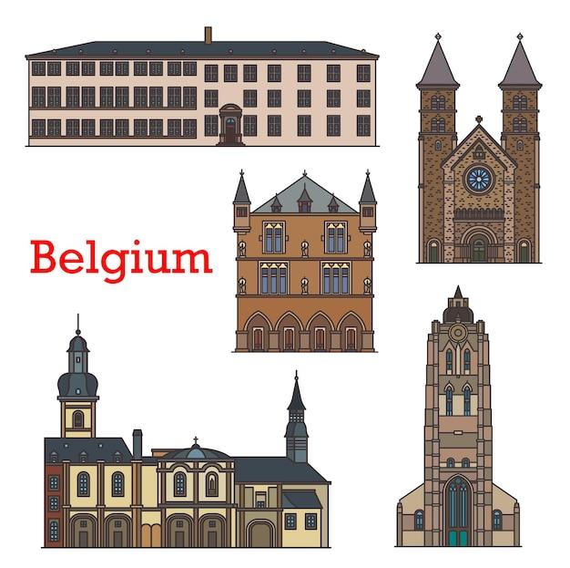 Luxembourg travel landmarks, echternach churches