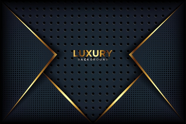 Luxurious abstract black background