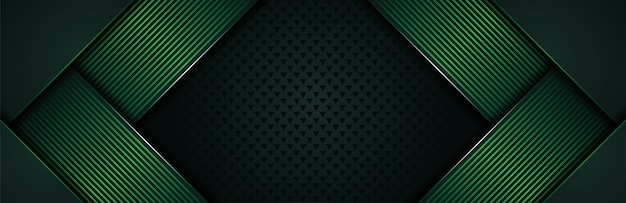 Luxurious background with dark green lines combination