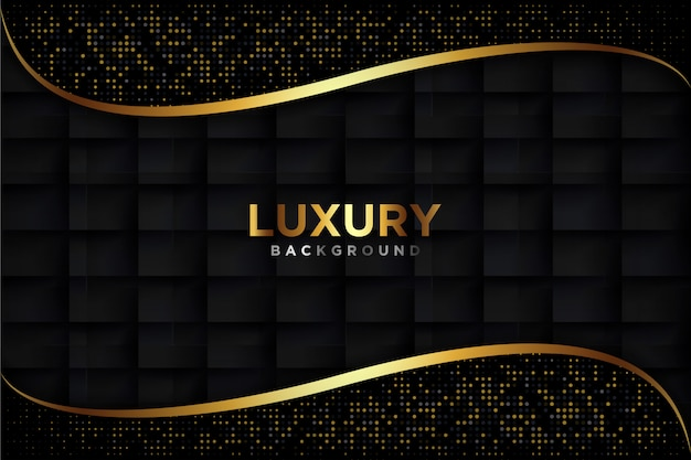 Luxurious black background