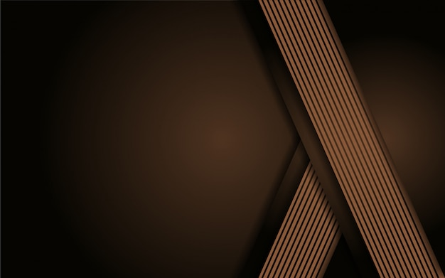 Luxurious brown line abstract background