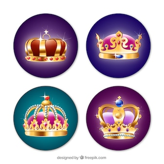 Luxurious crowns