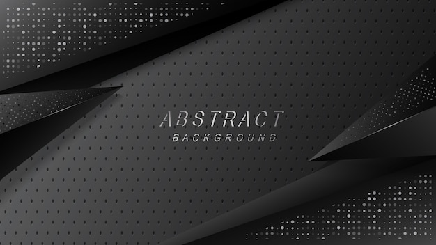 Luxurious dark asbtract background