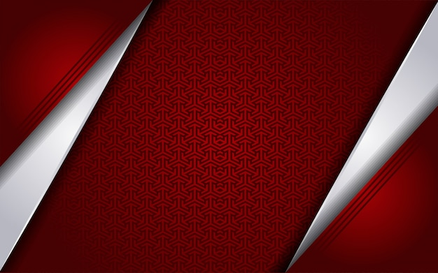 Luxurious red white with abstract style background