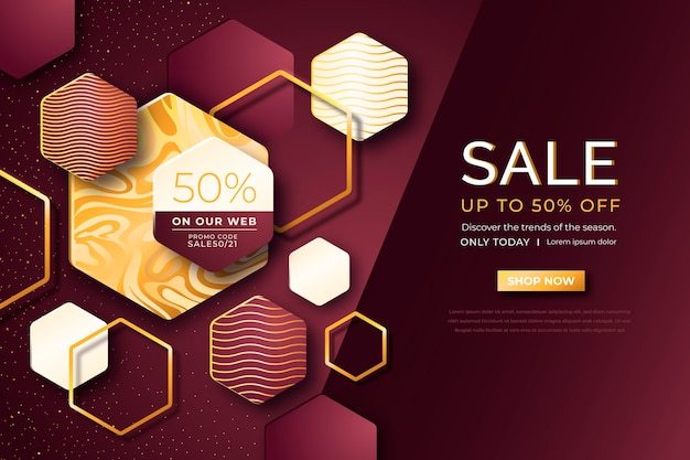 Luxurious sale wallpaper