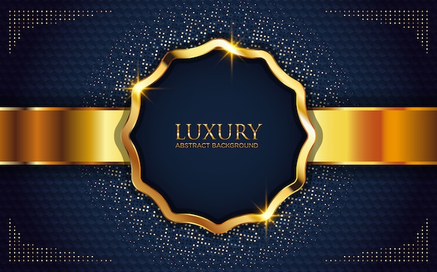 Luxury abstract background with sparkling golden glitter