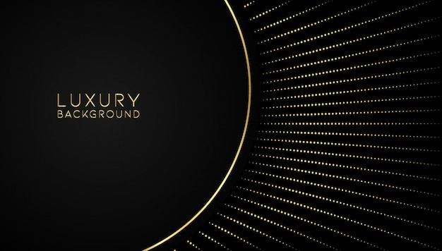 Luxury abstract golden background