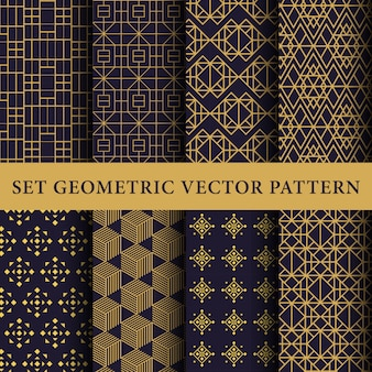 Luxury abstract  pattern pack