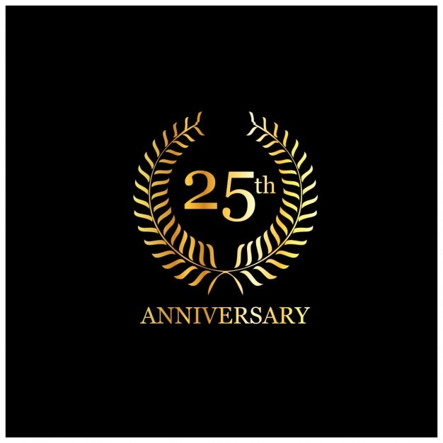 25 anniversary vectors photos and psd files free download rh freepik com 25 anniversary logo free 25 anniversary logo vector free download