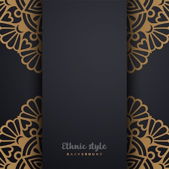 Luxury arabic style design