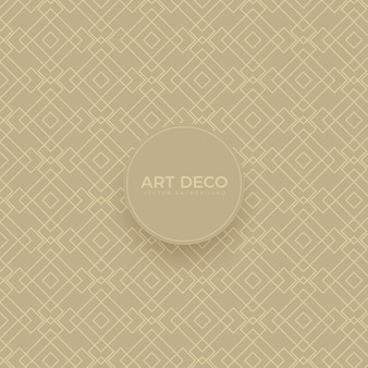Luxury art deco seamless background grid