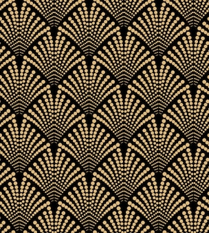 Luxury art deco seamless pattern design