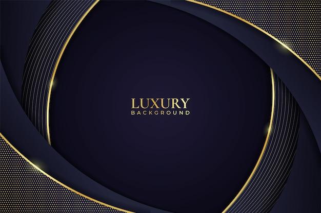 Luxury background abstract elegant minimalist shiny line gold with navy