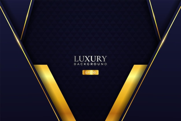 Luxury background modern realistic diagonal overlapped golden layer