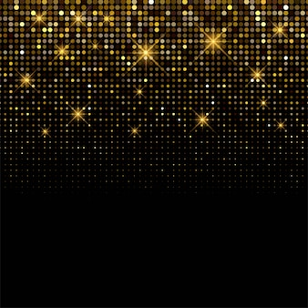 Luxury background shiny golden glitters background