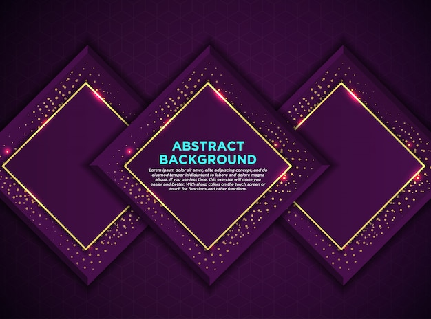 Luxury background style purple