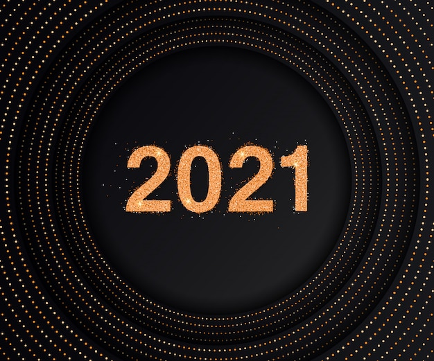 Luxury background with 2021