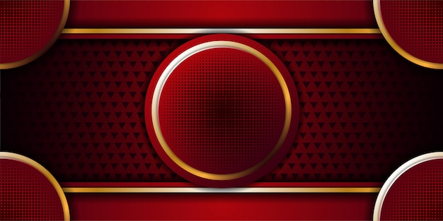 Luxury background with circle shape and glitters texture background