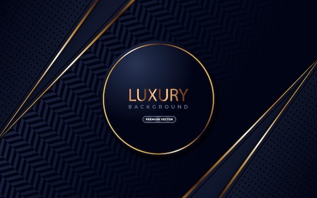 Luxury background with circle shapes on midle.