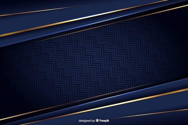 Luxury background with golden abstract shapes